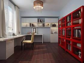 2015简约书房装潢设计