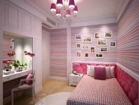 欧式甜美儿童房设计