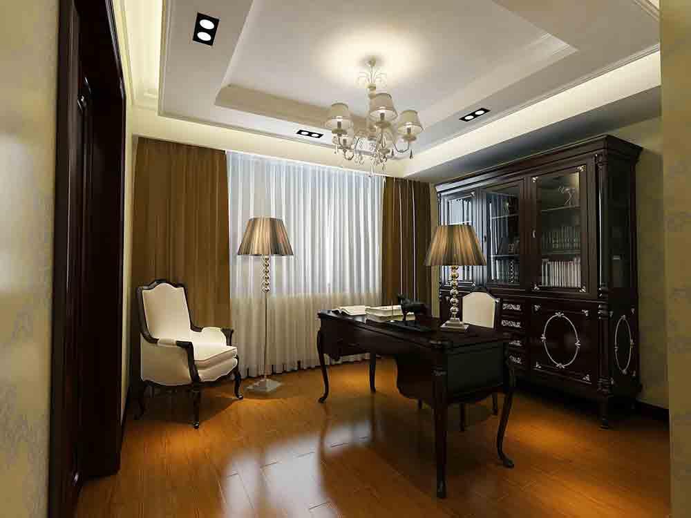 2015新古典主义书房设计