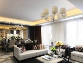 新古典主义风格客厅装修实例