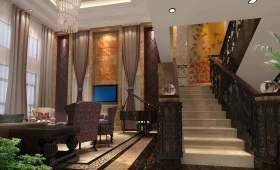 沉稳气质新古典主义楼梯设计