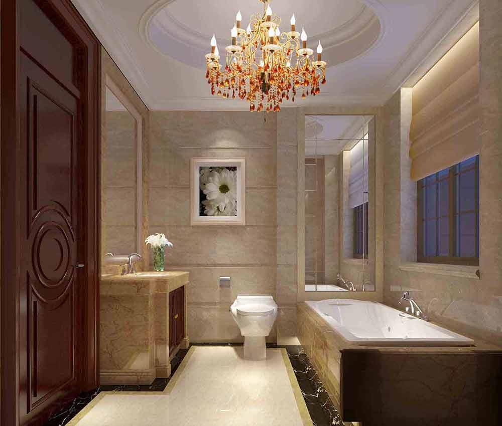 古典休闲欧式卫生间装修效果图