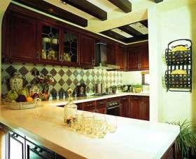 个性新古典主义厨房装修图