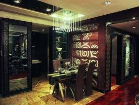 新古典风格餐厅设计效果图