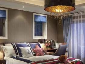 自由美式卧室装潢