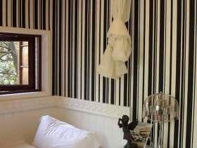 黑白色系美式卧室设计