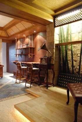复古风格新古典吧台设计
