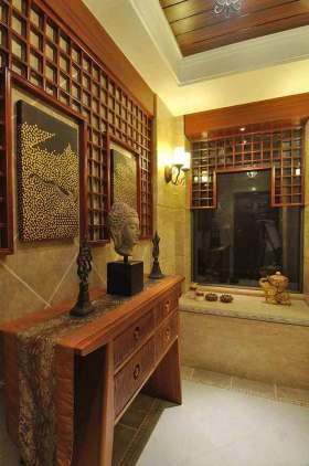 东南亚古典风格收纳柜设计