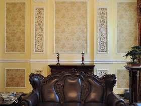 欧式怀古客厅装修欣赏