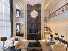 素雅高贵欧式客厅设计欣赏
