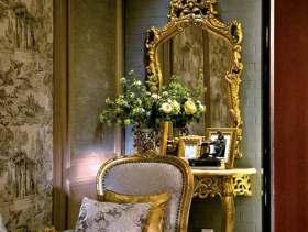 2015尊贵欧式风格客厅设计局部欣赏