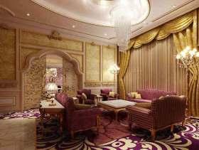 浪漫甜美欧式客厅装修欣赏