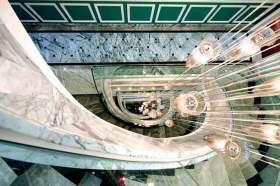 欧式绚丽楼梯整体设计