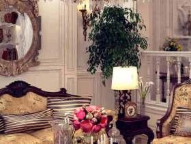 欧式风格温馨客厅装修效果