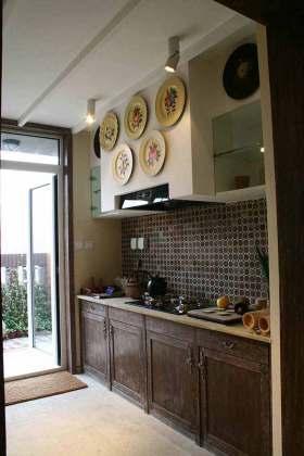 古朴传统中式厨房设计欣赏