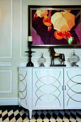 新古典主义艺术收纳柜设计