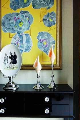 新古典主义时尚收纳柜装饰欣赏