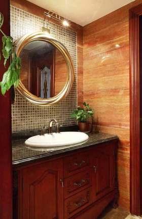 新古典主义复古时尚卫生间设计