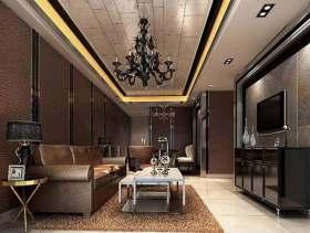 简欧酷炫客厅设计