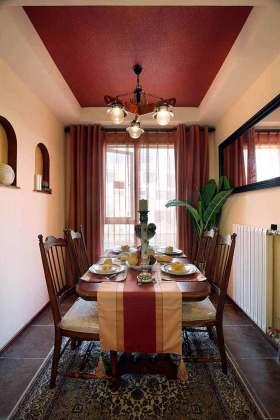 东南亚休闲风格餐厅设计