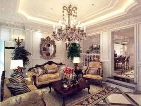 欧式风格客厅华丽设计