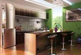 简约时尚开放式厨房设计