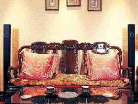 传统中式风格客厅装修案例