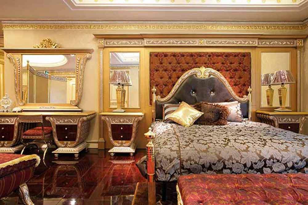 欧式古典豪华卧室装潢