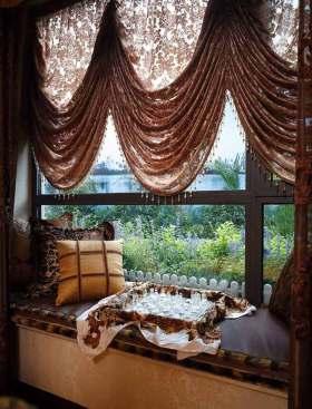 欧式古典风格飘窗装修设计
