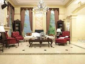 欧式别墅客厅装修图片