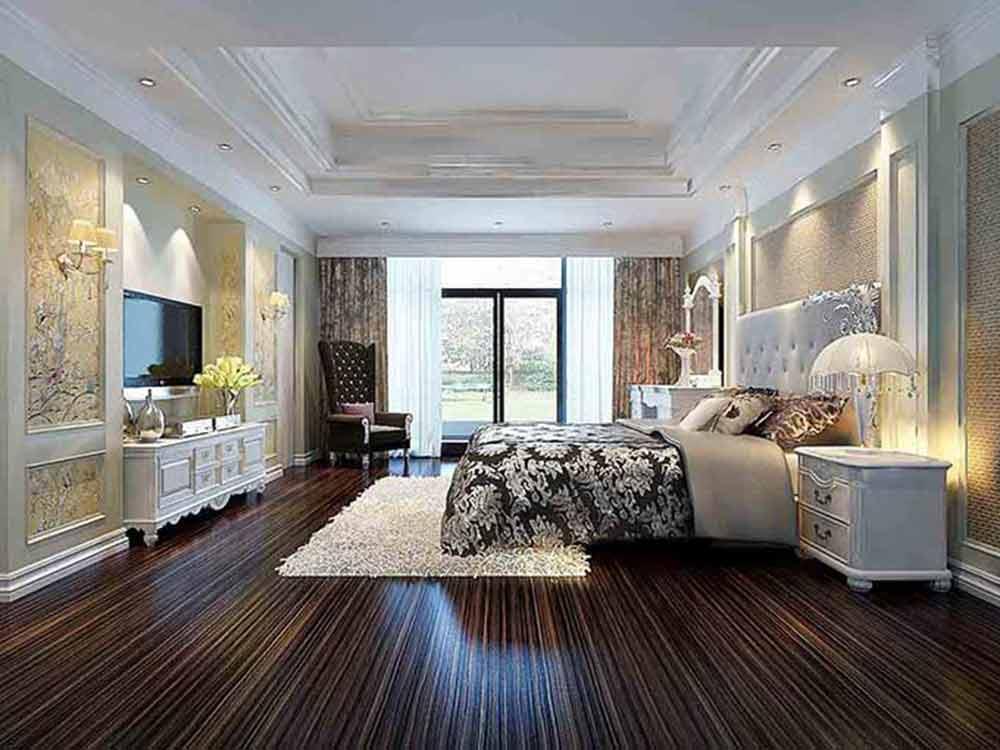 2015奢華歐式臥室裝修欣賞