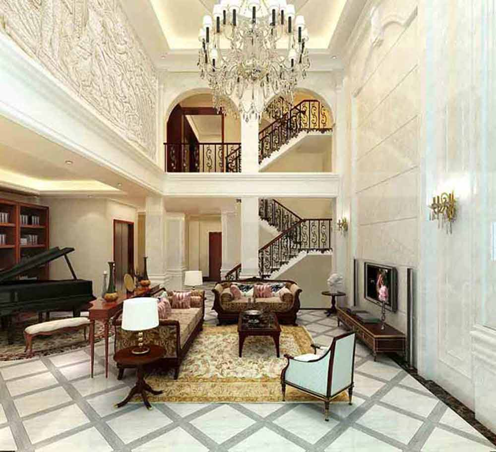 欧式客厅奢华设计