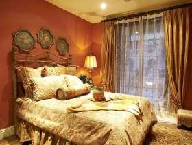 美式浪漫卧室装修欣赏