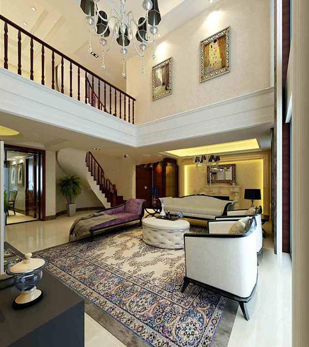 新古典低奢客厅装修欣赏