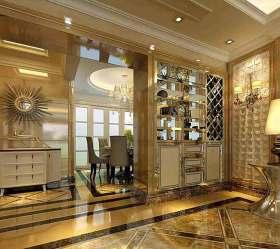 金色欧式收纳柜设计欣赏