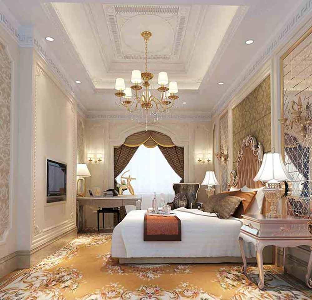 欧式清新美观卧室装修图片