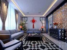 中式客厅现代化设计