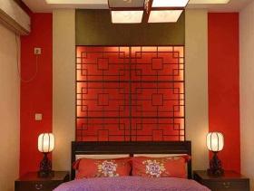 中式浪漫新房卧室设计