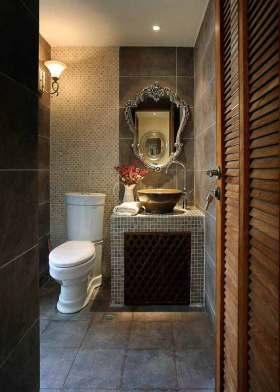 新古典风格卫生间精巧设计