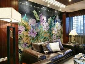 现代风格中式客厅装修欣赏
