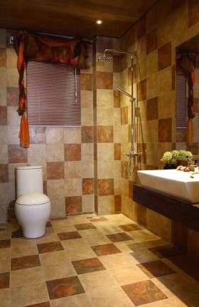新古典风格温馨卫生间设计