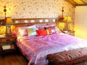 古朴中式阁楼型卧室装修设计图片