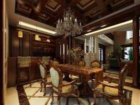 新古典纷繁复杂餐厅装修布置