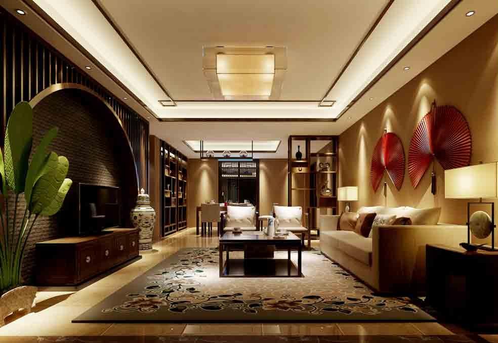 美式特色客厅装修效果图