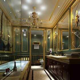 新古典唯美卫生间装修装饰