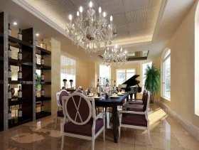 新古典雅致餐厅装修