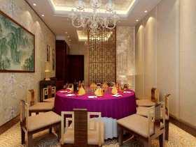 新古典风格白色餐厅欣赏图