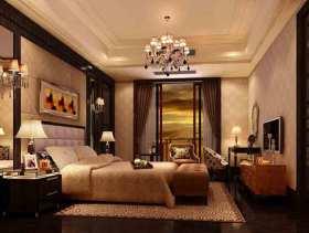 2105原木色简欧风格卧室设计图