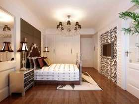 白色简约欧式风格卧室设计图