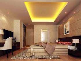 米色明亮简约风格卧室装修效果图